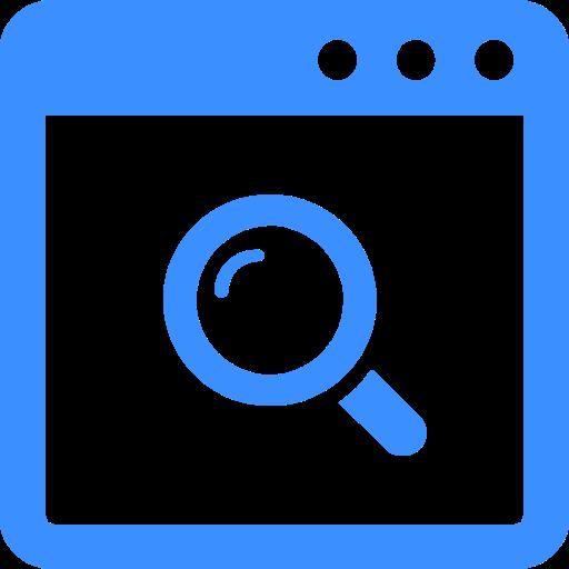 検索窓のアイコン